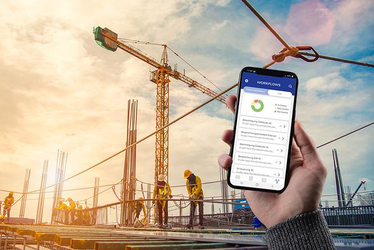 nová inovatívna aplikácia Datenpool pre stavebné projekty