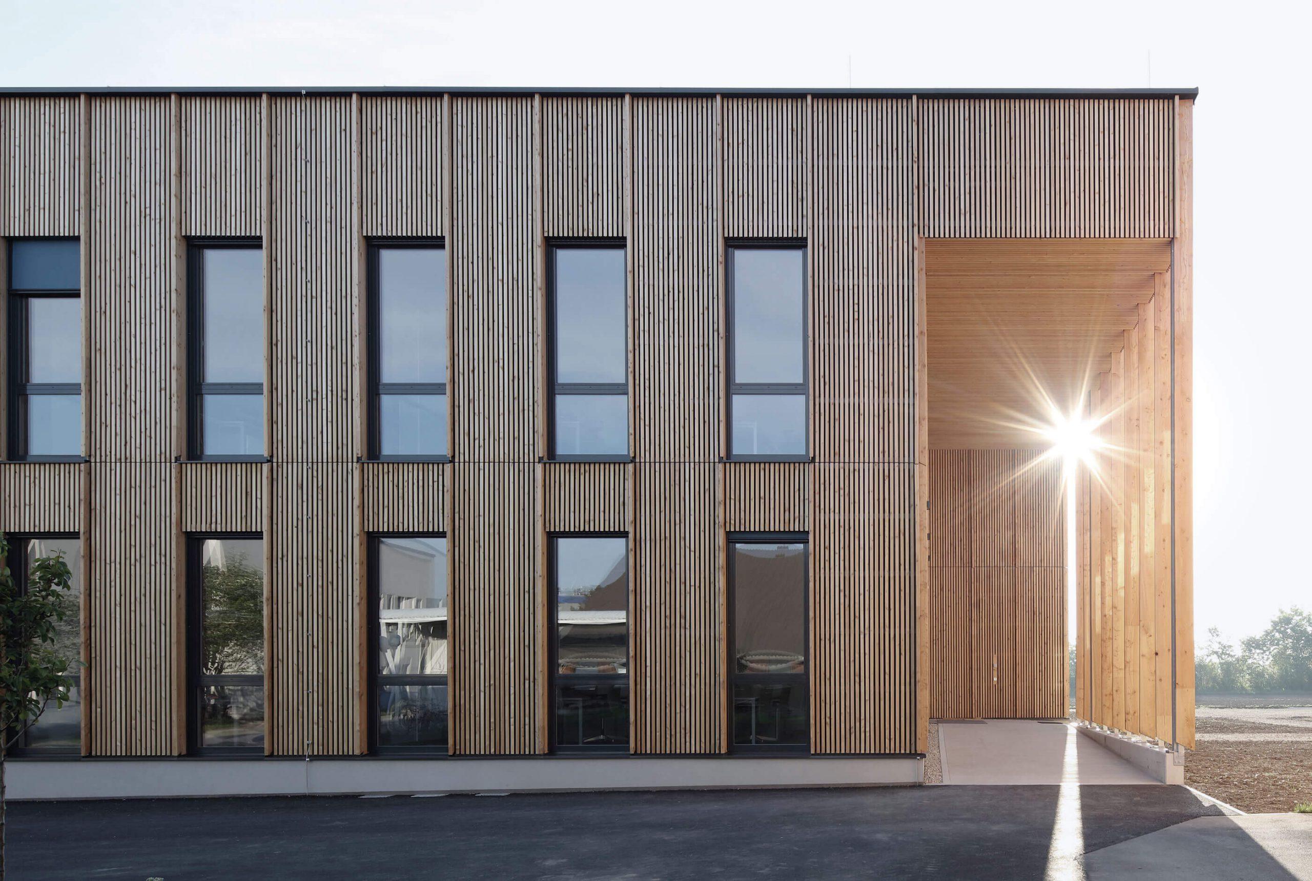Víťaz architektonickej súťaže - drevostavba, IFA, Tulln