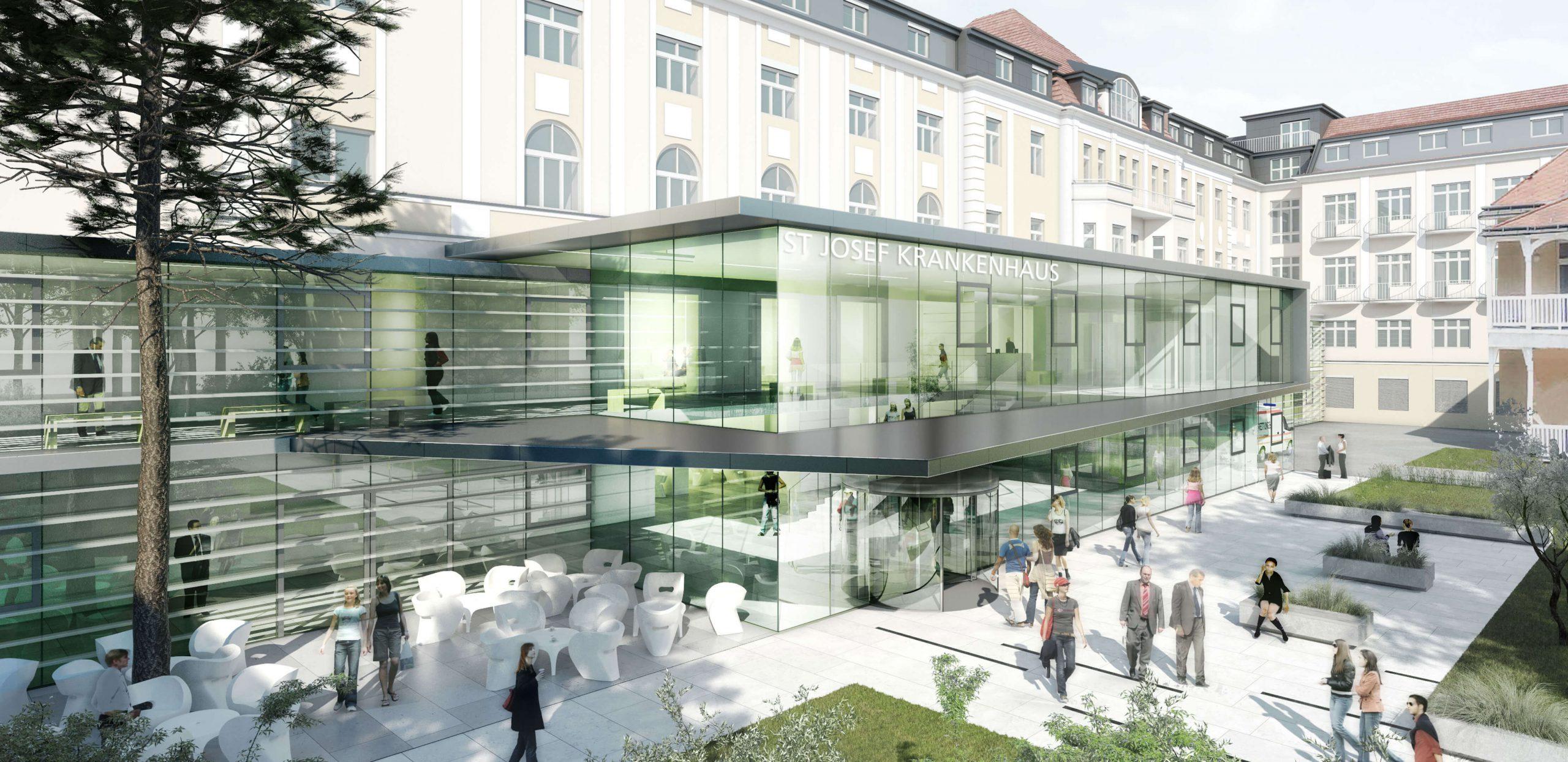 eingangshalle-St. Josef Krankenhaus