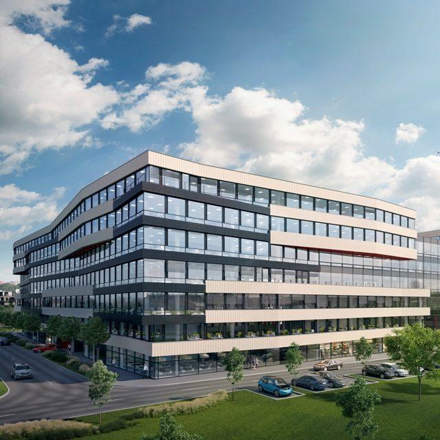 Administrativní budova DOCK IN FIVE