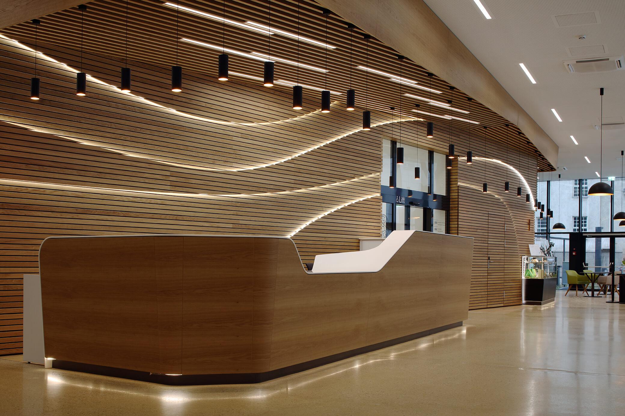 Eingangsbereich KH Elisabethinen Wien