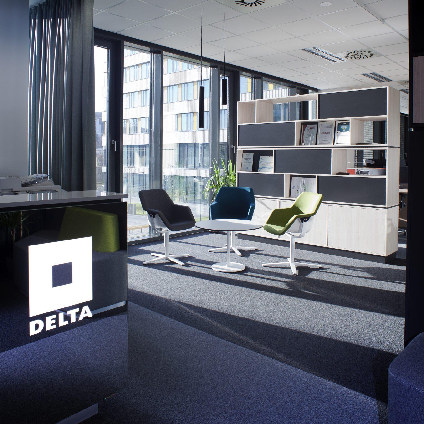 Kancelárské priestory Delta Group Slovensko v Bratislave
